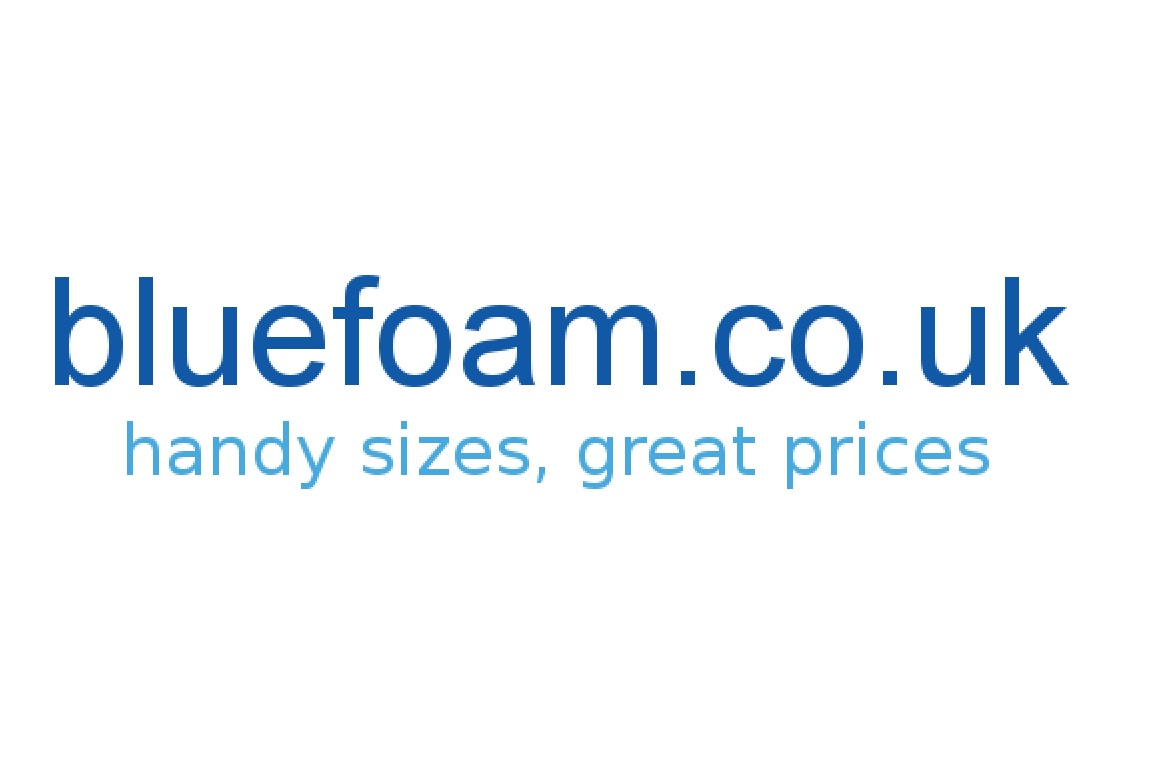 Blue foam logo smaller
