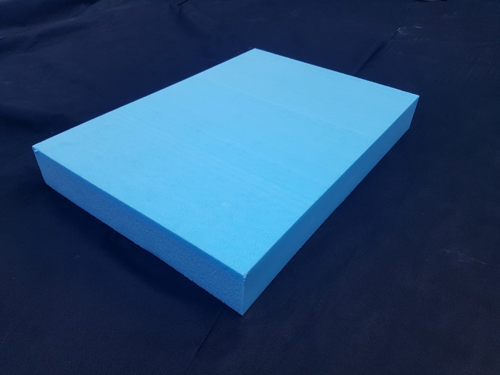 400mm X 600mm X 75mm Sheet Blue Foam
