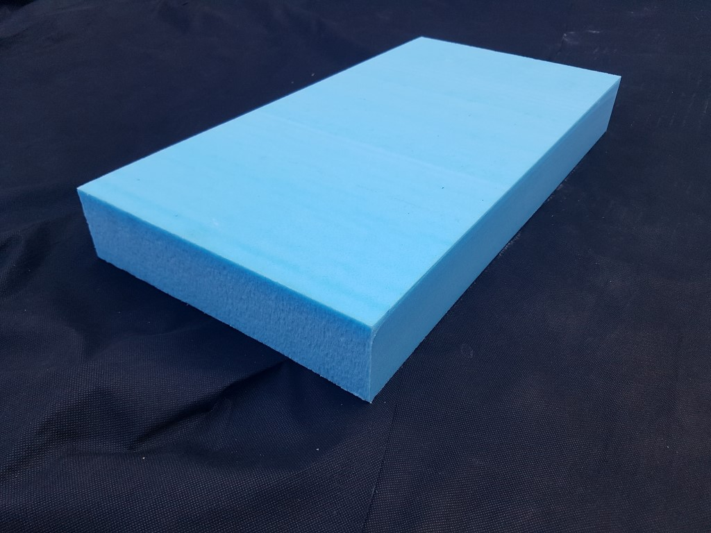 300mm X 600mm X 75mm Sheet Blue Foam