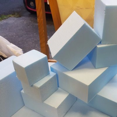 165mm Thick Styrofoam Blocks