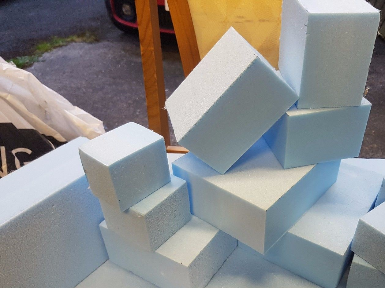 generic blocks of foam image