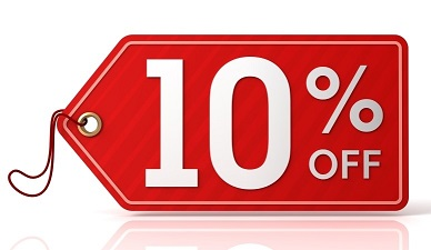 10% off for rest of July